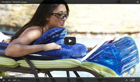 Click here to see videos of the Sphinx Personal Lounger